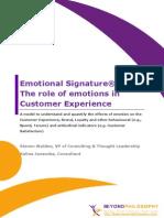 Emotional Signature
