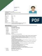 b Okie Resume