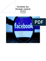 Facebook Inc. Company Analysis