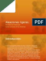 Aleaciones Ligeras
