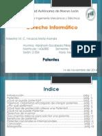 Patentes Derecho Informático