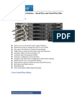 Cisco Stacking Switches—StackWise and StackWise Plus
