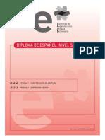 Pruebas I y II Interpretacion y Produccion de Textos Escrito