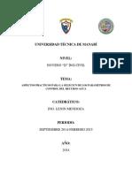 Aspectos Practicos Para La Selecicn de Los Parametros de Control Del Recurso Agu1--