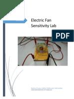 electric fan sensitivity lab