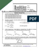 Mechanics Revision Paper