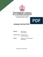 language learning profile - galvez and huenupe 1