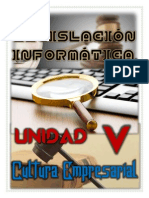 Unidad v (Cultura Empresarial) Trabajo Final