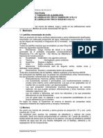 Esfecificaciones Tecnicas Pabellon - UNAJ Arquitectura