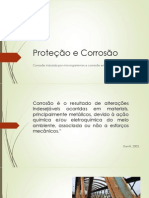 Seminário de Proteção e Corrosão