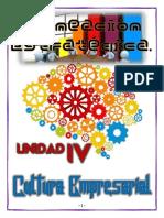Unidad IV (Cultura Empresarial) Trabajo Final