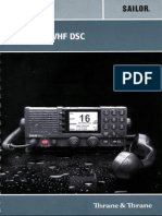 Thrane & Thrane_User Manual SAILOR 6222 VHF DSC