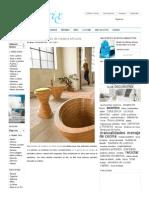 Tettonica, Muebles de Madera Africana - Decoratrix _ Blog de Decoración, Interiorismo y Diseño