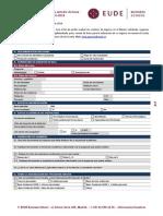 EUDE - Proceso de Admisión (of) Presencial