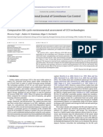 Comparative Life Cycle Environmental Assessment of CCS Technologies