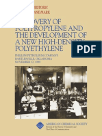 Discovery of Polypropylene and Development of High Density Polyethylene Commemorative Booklet