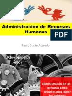 Administración de Recursos Humanosprueba2-2014