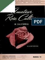 Amateur rose culture in California (1953)