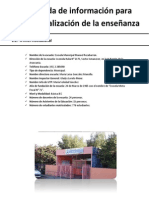 Recogida de Información Para Contextualización de La Enseñanza