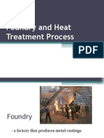 Foundry and Heat Treatment