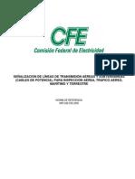 Cfe Nrf-042 Señalizacion de Lineas de Transmision (Rev 2005)