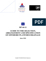 Caisson Drainage Design_guide to the Selection_bp_rp44-11
