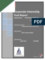 Final Report FICO (Pvt) Ltd