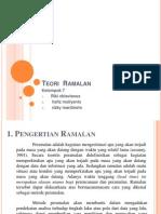 Teori Ramalan