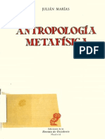 Antropologia Metafisica La Estructura Empirica de La Vida Humana (1)