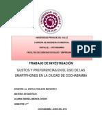 LOS SMARTPHONES EN BOLIVIA