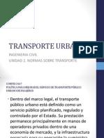 normas para transporte