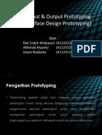 Desain Input & Output Prototyping