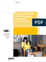 2011 Measuring the Effectiveness of Online Advertising