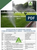 Ciclo Hidrológico2013