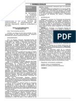 RM - 243-2014-JUS Pautas Para Levantamiento de Secreto Bancario