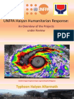 1 Overview of UNFPA Haiyan Response