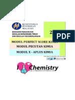Modul Perfect Score Dan Pecutan Kimia Serta Xa Plus Sbp 2014 With Skema