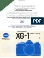 Minolta Xg 1