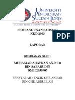 Report Pembangunan Sahsiah