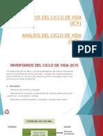 Inventarios Del Ciclo de Vida (ICV) Analisi Del Ciclo de Vida (ACV)