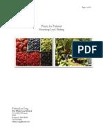Farm to Patient Business Plan