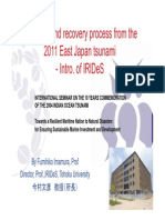 Lesson and Recovery Process From the 2011 East Japan Tsunami