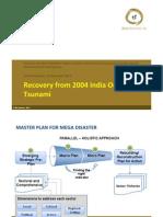 Recovery From 2004 India Ocean Tsunami