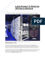 34 Questions and Answers to Break the Myth About SF6 Gas in Electrical Equipment