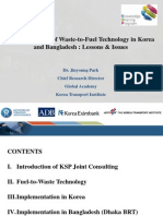 Implementation of Waste-To-Fuel Technology in Korea and Bangladesh (2Dec)