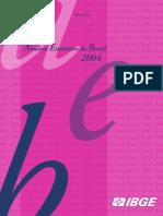Anuário Estatístico do Brasil 2004 IBGE