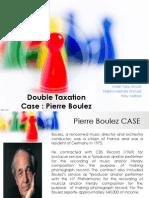Pierre Boulez Case Tax International