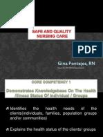 Safe and Quality Nursing Care