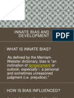 innate bias presentation