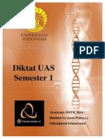 Diktat UAS Teknik Kimia UI Semester 1